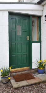 Cults Cottage self-catering holiday accommodation near Whithorn, south west Scotland