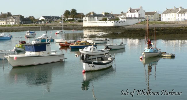Isle of WHithorn harbour near Cults Cottage